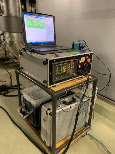 配管肉厚超音波調査